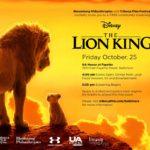 The Lion King (2019); Free Screening, Bloomberg Philanthropies (FRI 10.25.19)